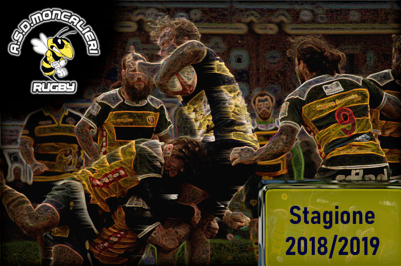 moncalieri rugby stagione 2018-2019